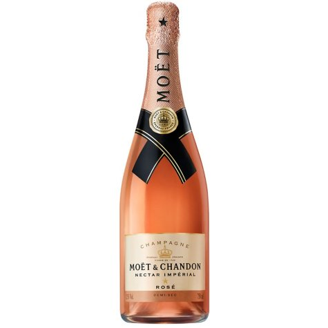 Moet & Chandon Nectar Imperial Rose Champagne (750 ml)
