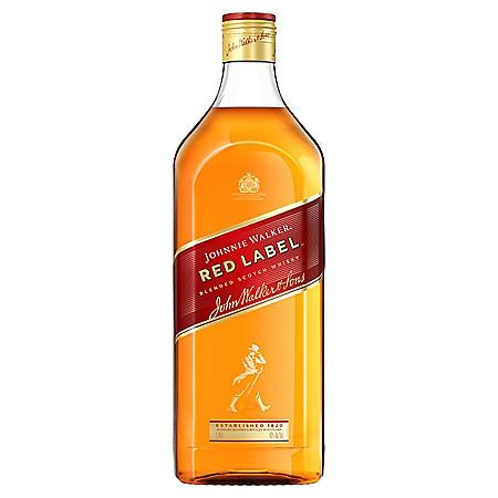 Johnnie Walker Red Label Blended Scotch Whisky (1.75 L)