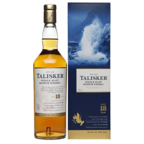 Talisker 18 Year Old Scotch Whisky (750 ml)