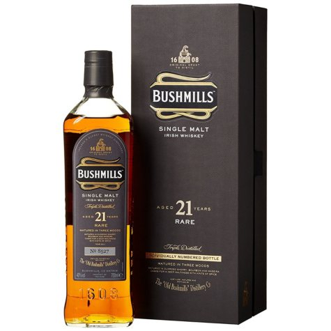 Bushmills 21 Year Old Irish Malt Whiskey (750 ml)