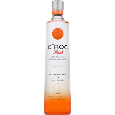 +CIROC VODKA PEACH 750ML
