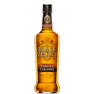 Black Velvet Toasted Caramel Flavored Whisky (750ML)
