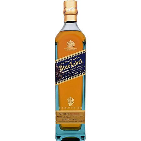 +JOHNNIE WALKER BLUE LABEL 750ML
