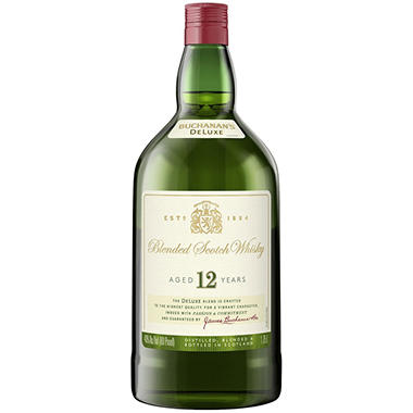 Buchanan's 12 Year Old Blended Scotch Whisky (1.75 L)