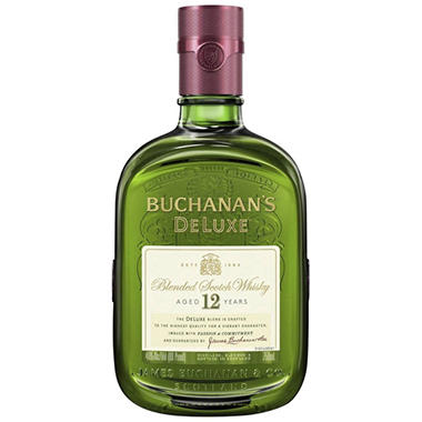 Buchanan's 12-Year Old Scotch Whisky (750ML)