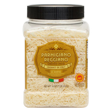 Member's Mark Shredded Parmesan Reggiano by Argitoni (16 oz.)