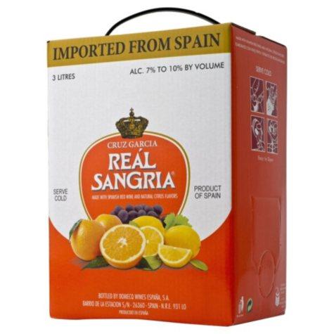 Cruz Garcia Real Sangria (3 L box)