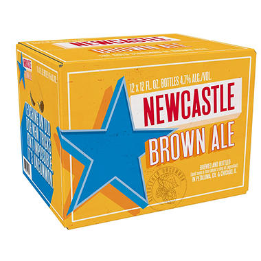 Newcastle Brown Ale (12 fl. oz. bottle, 12 pk.)