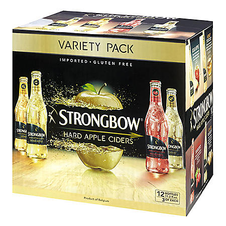 STRONGBOW VARIETY 12 / 11.2 OZ