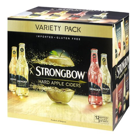 STRONGBOW VARIETY 12 / 12 OZ BOTTLES
