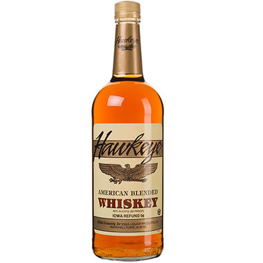 Hawkeye American Blended Whiskey (1 L)