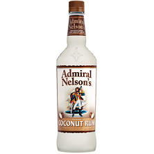 Admiral Nelson's Coconut Flavored Caribbean Rum (1L)