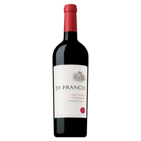 St. Francis Old Vines Zinfandel, Sonoma County (750 ml)