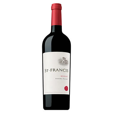 St. Francis Merlot, Sonoma Valley (750 ml)