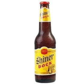 Shiner Bock Beer (12 fl. oz. bottle, 24 pk.)