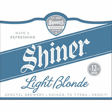 SHINER LT BLONDE 12 / 12 OZ BOTTLES