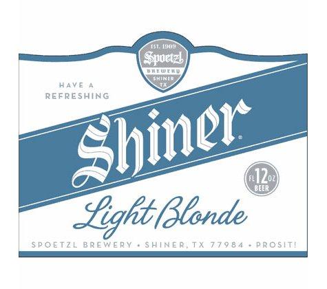 SHINER LT BLONDE 12 / 12 OZ BOTTLES