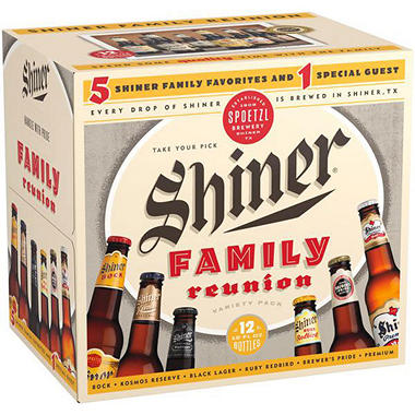 SHINER FAMILY REUN 12 / 12 OZ BOTTLES