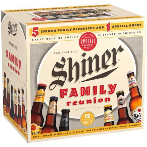 SHINER FAMILY 12 / 12 OZ BOTTLES