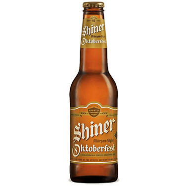 SHINER SEASONAL 12 / 12 OZ BOTTLES