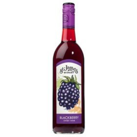 St. James Winery Blackberry Sweet Wine (750 ml)