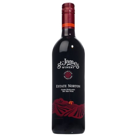 St. James Winery Estate Norton Dry Red Wine (750 ml)
