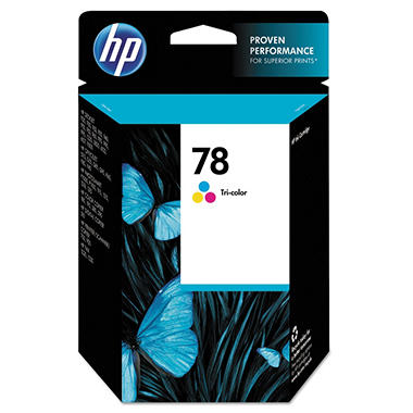 HP 78 Original Ink Cartridge, Tri-Color (560 Page Yield)