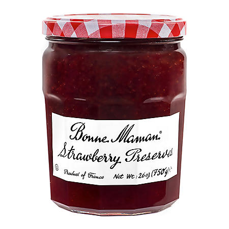 Bonne Maman Strawberry Preserves (26 oz.)