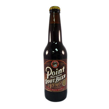 Point Premium Root Beer - 12 oz. bottles - 24 ct.