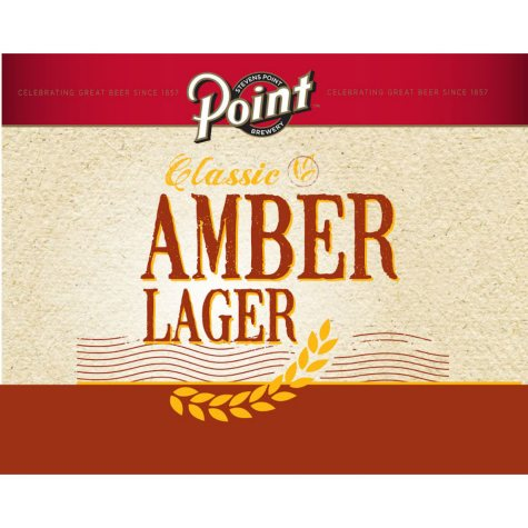 Point Classic Amber Lager (12 fl. oz. can, 12 pk.)