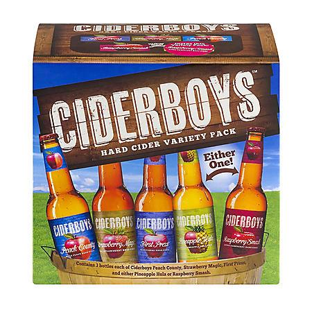 Ciderboys Hard Cider Variety (12 fl. oz. bottle, 12 pk.)