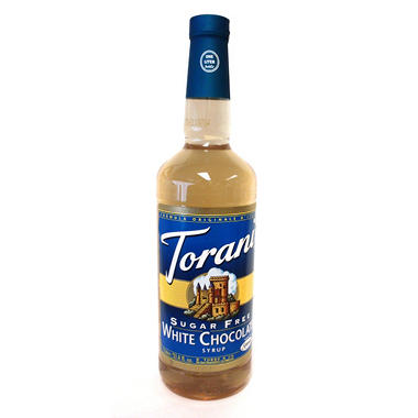 Torani Sugar Free White Chocolate  - 1 L