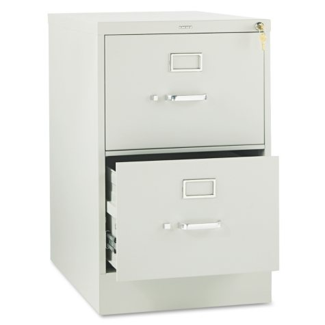 "HON 26 ½"" 310 Series 2-Drawer Legal File Cabinet, Select Color"