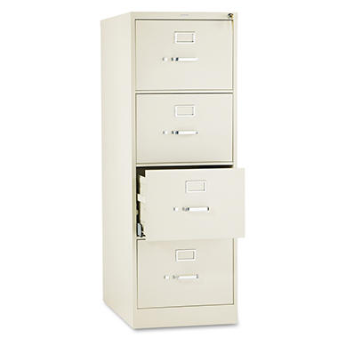 HON - 510 Series Vertical File Cabinet, 4-Drawer, Full-Suspension, Legal, 25
