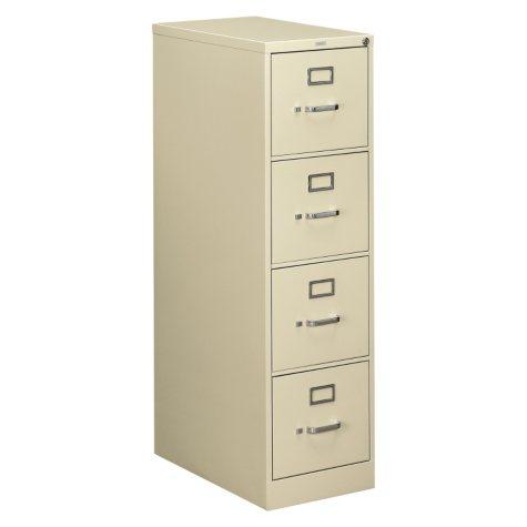 "HON 25"" 510 Series 4-Drawer Vertical File Cabinet"
