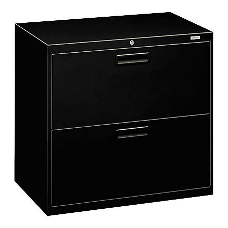 "HON 30"" 500 Series  2-Drawer Letter/Legal Lateral File Cabinet, Select Color"