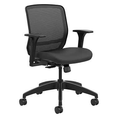HON Quotient Series Mesh Mid-Back Task Chair, Select color