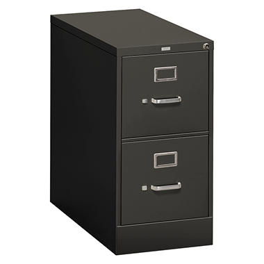 "HON 26 ½"" 310 Series 2-Drawer Letter File Cabinet, Select Color"