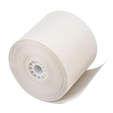 PM Company - Paper Rolls, One-Ply Recycled Receipt Roll, 2-1/4