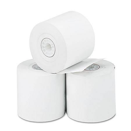 "Iconex Direct Thermal Printing Thermal Paper Rolls, 2.25"" x 85 ft, White, 3/Pack"