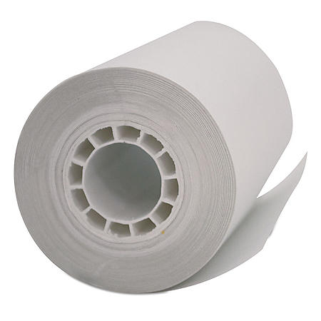 "Iconex Direct Thermal Printing Thermal Paper Rolls, 2.25"" x 55 ft, White, 50/Carton"