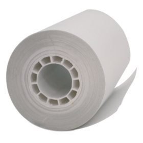 "PM Company Single Ply Thermal Cash Register/POS Rolls, 2 1/4"" x 55 ft., White, 50ct."