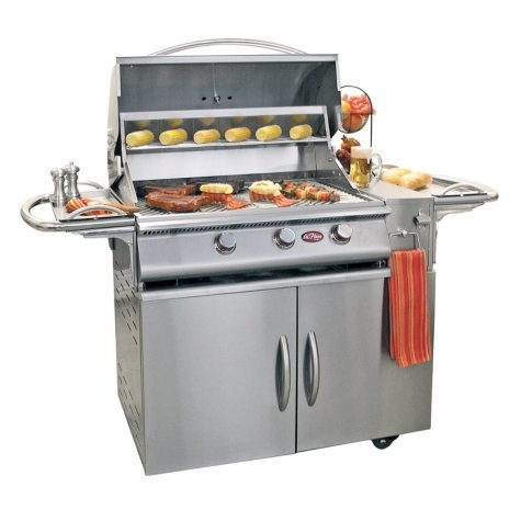 Cal Flame A La Cart Plus 3-Burner Stainless Steel Gas Grill