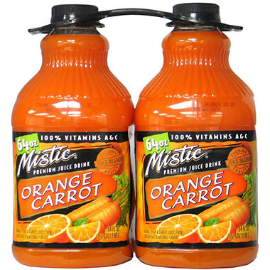 Mistic Orange Carrot - 64 oz. - 2 pk.