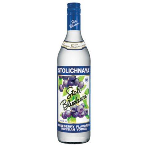 Stoli Blueberi Vodka (750 ml)