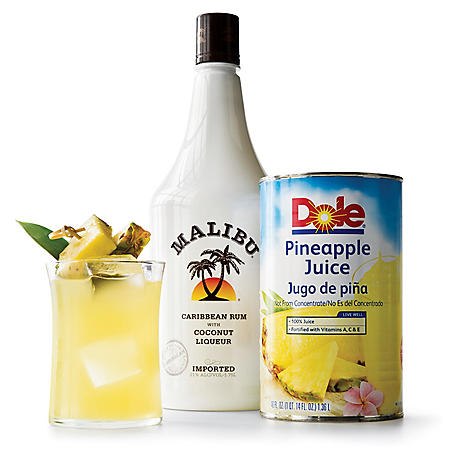 Malibu Coconut Rum with Pineapple Juice (1.75 L)