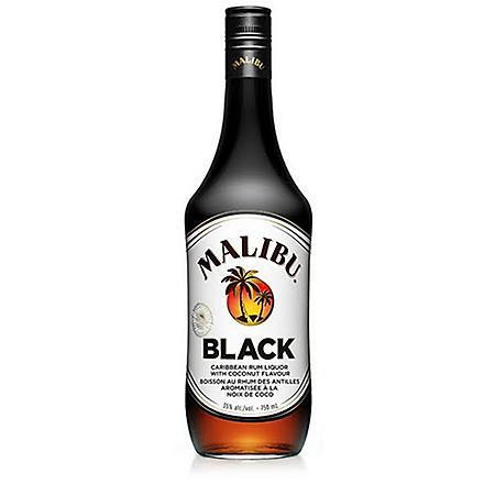 Malibu Black Rum (750 mL)
