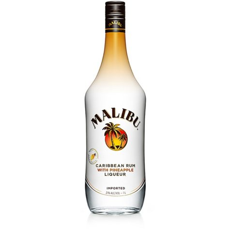 Malibu Caribbean Rum with Pineapple Liqueur (200 ml, 4 pk.)