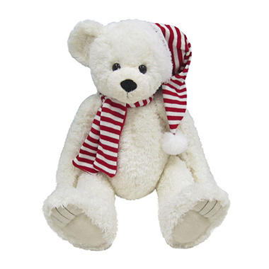 Holiday 2012 Christmas Bear - White