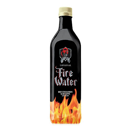 Fire Water Hot Cinnamon Schnapps Liqueur (1 L)